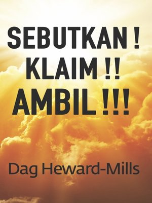 cover image of Sebutkan! Klaim!! Ambil!!!