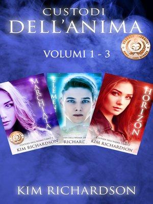cover image of Custodi dell'Anima volumi 1