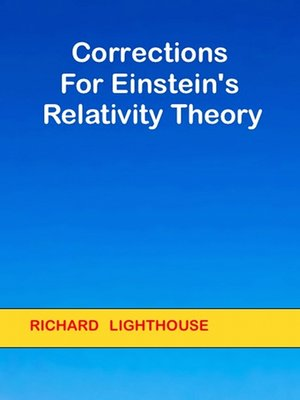 cover image of Corrections for Einstein's Relativity Theory