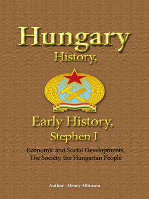 cover image of Hungary History, Early History, Stephen I