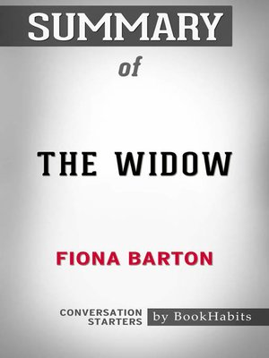 cover image of Summary of the Widow