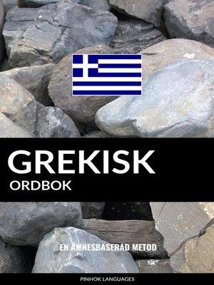 cover image of Grekisk ordbok