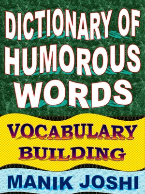 cover image of Dictionary of Humorous Words