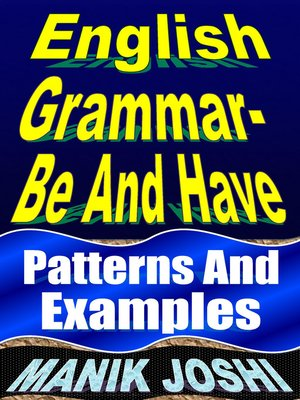 cover image of English Grammar- Be and Have