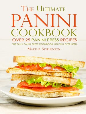 cover image of The Ultimate Panini Cookbook