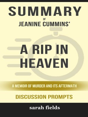 cover image of Summary of a Rip in Heaven