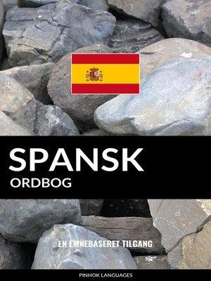 cover image of Spansk ordbog