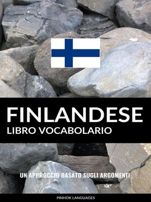 cover image of Libro Vocabolario Finlandese