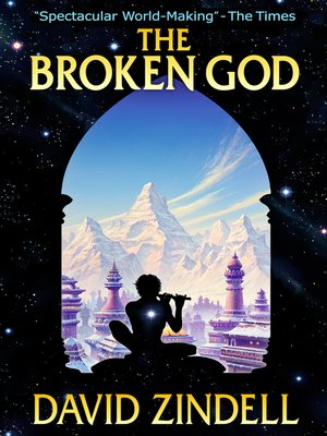 cover image of The Broken God