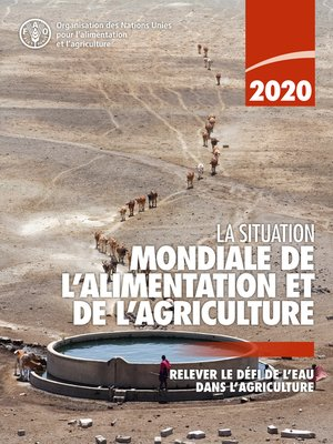 cover image of La situation mondiale de l'alimentation et de l'agriculture 2020