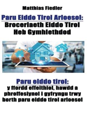 cover image of Paru Eiddo Tirol Arloesol
