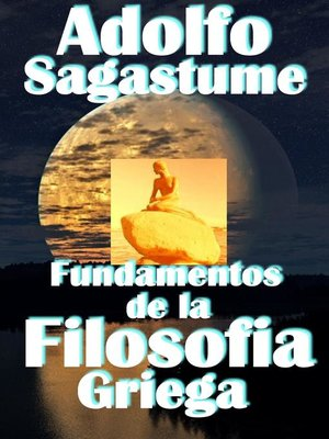 cover image of Fundamentos de la Filosofia Griega