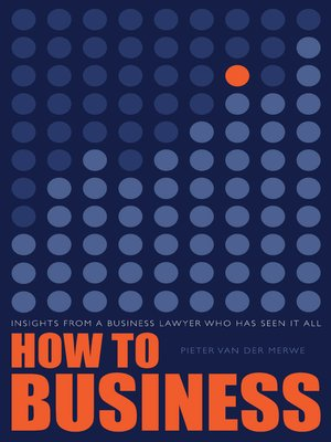 cover image of How to Business