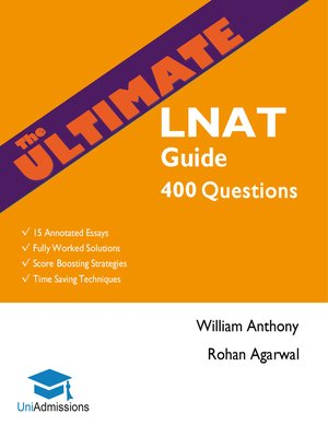 cover image of The Ultimate LNAT Guide
