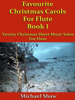 cover image of Favourite Christmas Carols For Flute Book 1