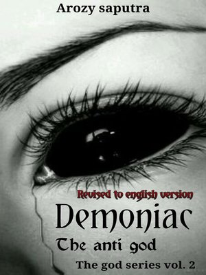 """cover image of Demoniac """"Anonymous Behind Story"""" English Version"""