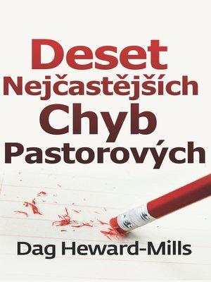 cover image of Deset Nejčastějších Chyb Pastorových