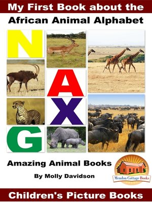 cover image of My First Book about the African Animal Alphabet