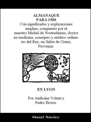 cover image of Almanaque para 1566 de Nostradamus