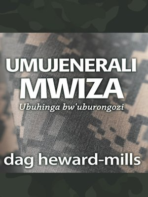 cover image of Umujenerali Mwiza