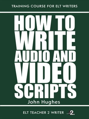 cover image of How to Write Audio and Video Scripts