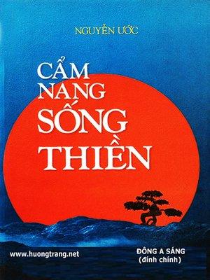 cover image of Cẩm nang sống Thiền.