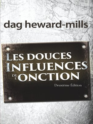 cover image of Les douces influences de l'onction