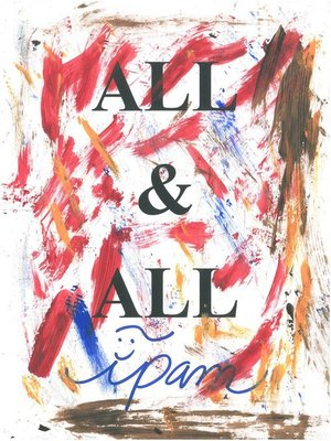 cover image of All and All