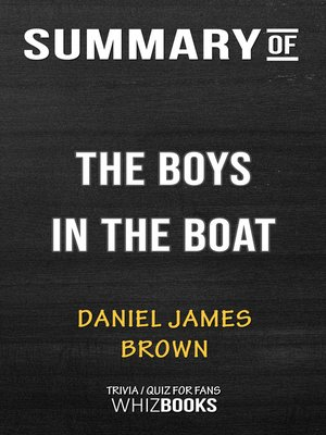cover image of Summary of the Boys in the Boat