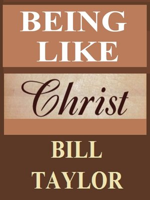 cover image of Being Like Christ