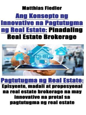 cover image of Ang Konsepto ng Innovative na Pagtutugma ng Real Estate