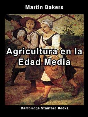 cover image of Agricultura en la Edad Media