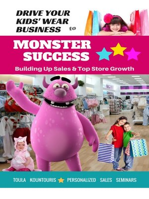 cover image of Drive Your Kids-Wear Biz to Monster Success