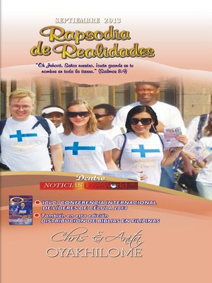cover image of Rhapsody of Realities September 2013 Spanish Edition