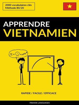 cover image of Apprendre le vietnamien