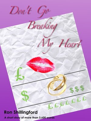 cover image of Don't Go Breaking My Heart
