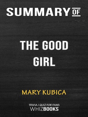 cover image of Summary of the Good Girl