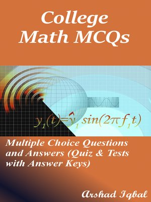 cover image of College Math MCQs