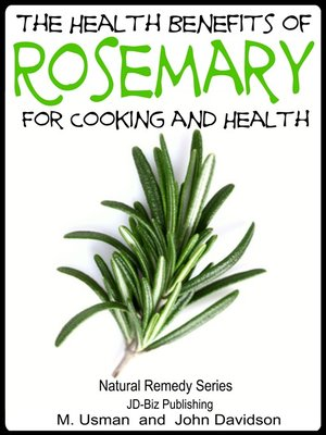 cover image of Health Benefits of Rosemary For Cooking and Health