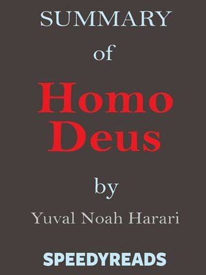 cover image of Summary of Homo Deus by Yuval Noah Harari