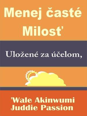 cover image of Menej časté Milosť Uložené za účelom,