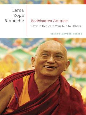 cover image of Bodhisattva Attitude