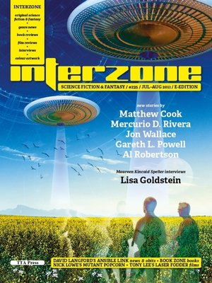 cover image of Interzone 235 Jul