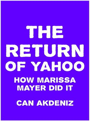 cover image of The Return of Yahoo