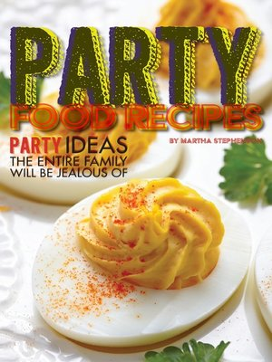 cover image of Party Food Recipes