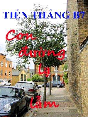 cover image of Con đường lạ lẫm