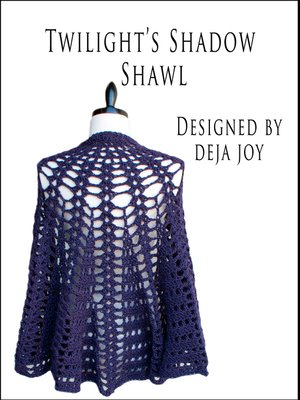 cover image of Twilight's Shadow Shawl