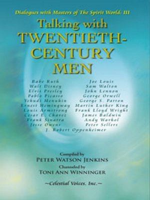 cover image of Talking with Twentieth-Century Men