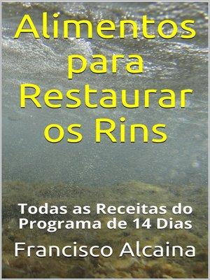 cover image of Alimentos para Restaurar os Rins