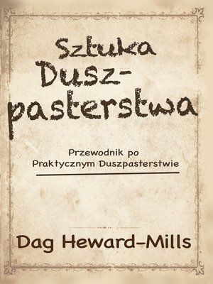 cover image of Sztuka Duszpasterstwa